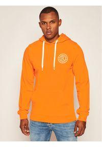 Rage Age Bluza Hooddie 1 Pomarańczowy Slim Fit. Kolor: pomarańczowy