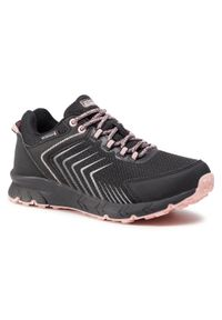 Czarne buty trekkingowe Sprandi z cholewką