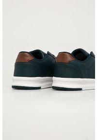Niebieskie sneakersy Levi's® z cholewką, w kolorowe wzory #5