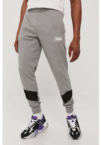 Szare spodnie dresowe Puma gładkie