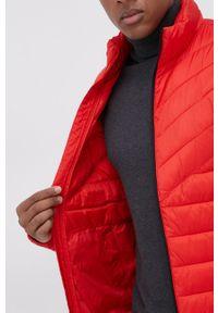 Tom Tailor - Kurtka. Okazja: na co dzień. Kolor: czerwony. Materiał: materiał, poliester. Styl: casual