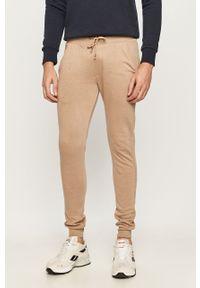 Beżowe spodnie dresowe Brave Soul