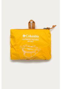 Pomarańczowa nerka columbia gładkie
