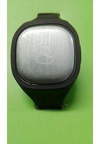 Zegarek sportowy GSM City Zegarek sportowy inteligentna bransoletka fitness standard czarny. Kolor: czarny. Styl: sportowy