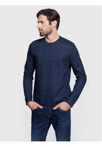 Vistula Bluza Binks XA0690 Granatowy Regular Fit. Kolor: niebieski