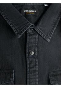 Jack & Jones - Jack&Jones Koszula Sheridan 12138115 Czarny Slim Fit. Kolor: czarny