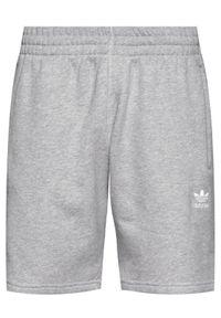Adidas - adidas Szorty sportowe Trefoil Essentials GD2555 Szary Standart Fit. Kolor: szary