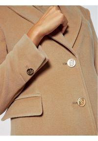 Brązowy płaszcz przejściowy Liu Jo