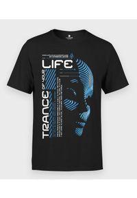 MegaKoszulki - Koszulka męska Muzyczna Trance your life. Materiał: bawełna