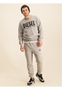 Diesel Bluza S-Gir-Division-Logo 00SWFH 0BAWT Szary Regular Fit. Kolor: szary