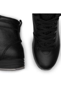 Czarne buty trekkingowe Nik trekkingowe