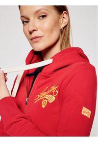 Superdry Bluza Collegiate W2011182A Czerwony Regular Fit. Kolor: czerwony #4