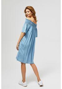 MOODO - Sukienka lyocell. Materiał: lyocell