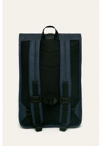 Rains - Plecak 1316 Rolltop Rucksack. Kolor: niebieski