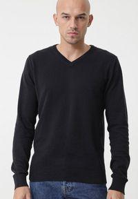 Niebieski sweter Born2be