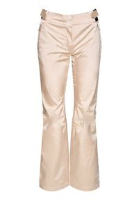 Beżowe spodnie sportowe Rossignol narciarskie