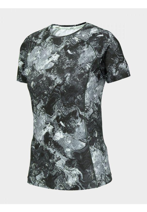Wielokolorowa koszulka termoaktywna outhorn