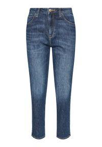 Niebieskie jeansy Lee #5