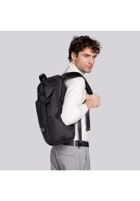 """Wittchen - Męski plecak na laptopa 15,6"""" z krytym suwakiem. Kolor: czarny. Materiał: poliester. Wzór: aplikacja. Styl: klasyczny, elegancki, casual #7"""
