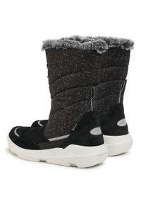 Czarne śniegowce Superfit na spacer, z cholewką #6