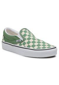 Vans Tenisówki Classic Slip-On VN0A33TB43B1 Zielony. Zapięcie: bez zapięcia. Kolor: zielony. Model: Vans Classic