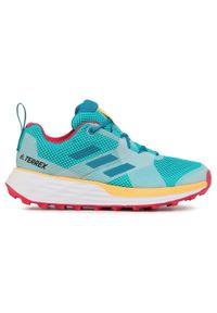 Zielone buty do biegania Adidas na co dzień, Adidas Terrex
