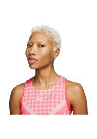 Koszulka damska do biegania Nike Tank Runway CQ7869. Materiał: poliester, materiał, elastan. Technologia: Dri-Fit (Nike). Długość: krótkie. Sport: fitness, bieganie #5
