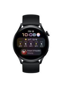 Smartwatch HUAWEI Watch 3 Active Czarny. Rodzaj zegarka: smartwatch. Kolor: czarny. Styl: casual