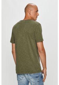Oliwkowy t-shirt PRODUKT by Jack & Jones casualowy, na co dzień #5