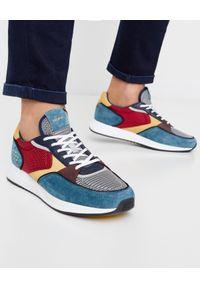 HOFF - Sneakersy Parioli. Okazja: na co dzień. Kolor: czerwony. Materiał: jeans. Wzór: nadruk