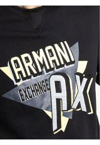 Armani Exchange Bluza 3HZMAJ ZJ4FZ 1200 Czarny Regular Fit. Kolor: czarny