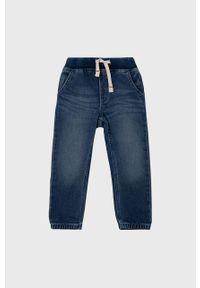 Niebieskie jeansy GAP gładkie, na co dzień, casualowe
