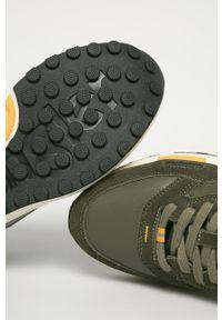 Sneakersy Wrangler na sznurówki, z cholewką, z okrągłym noskiem