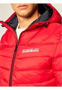 Czerwona kurtka puchowa Napapijri #7