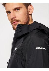 Czarna kurtka turystyczna Salewa #5