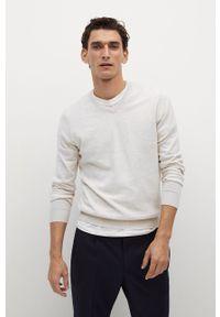 Sweter Mango Man długi, z długim rękawem