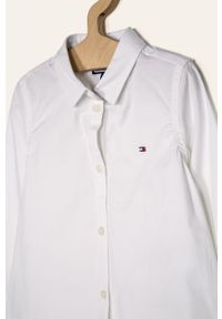 Biała koszula TOMMY HILFIGER na co dzień, casualowa