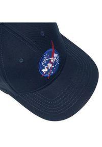 Niebieska czapka z daszkiem Alpha Industries