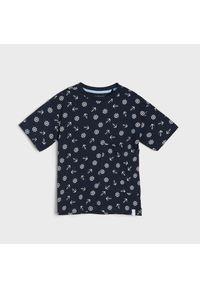 Niebieski t-shirt Sinsay