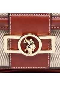 U.S. Polo Assn - Torebka U.S. POLO ASSN. - Lockhart Flap Crossbody BEULK5061WUPN04 Natural Brown. Kolor: brązowy, wielokolorowy, beżowy. Materiał: skórzane. Styl: klasyczny