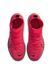Buty piłkarskie turfy dla dzieci Nike Mercurial Superfly 7 Club AT8156. Materiał: skóra, syntetyk, guma. Szerokość cholewki: normalna. Sport: piłka nożna
