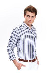 Koszula TOP SECRET na jesień, w kolorowe wzory
