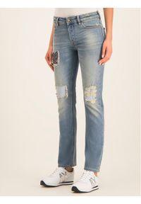 Niebieskie jeansy Emporio Armani