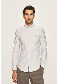 Niebieska koszula Polo Ralph Lauren długa, button down
