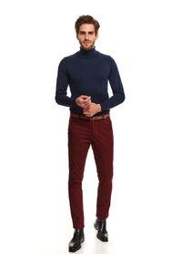 Czerwone spodnie TOP SECRET