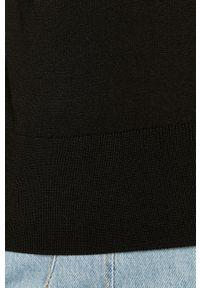 only - Only - Sweter. Typ kołnierza: golf. Kolor: czarny. Długość rękawa: długi rękaw. Długość: długie