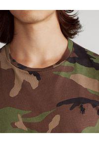 Zielony t-shirt Ralph Lauren polo, moro