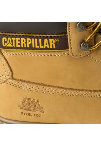 Brązowe trapery CATerpillar na co dzień, casualowe #7