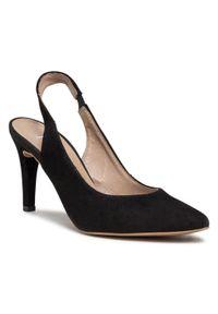 Czarne sandały klasyczne
