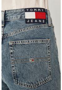 Niebieskie proste jeansy Tommy Jeans